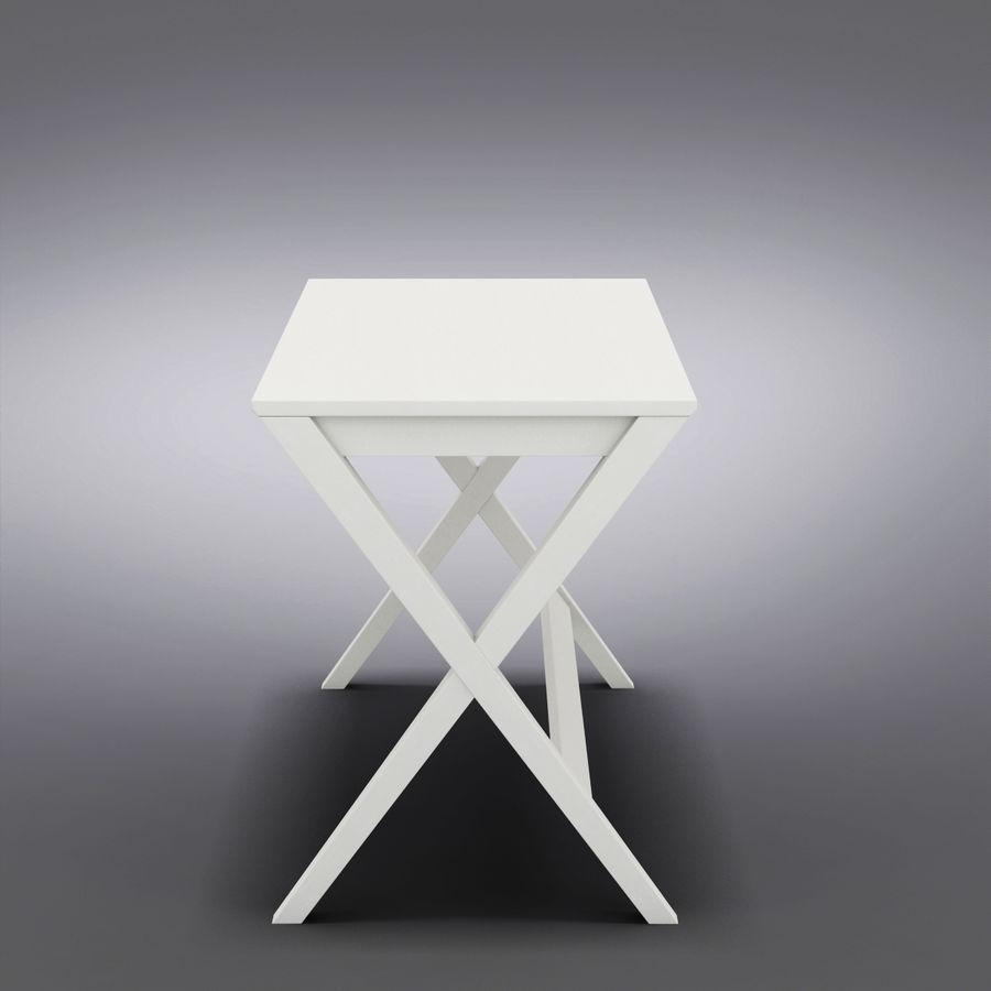 "Sandık ve Fıçı - Spotlight Ebony 58 ""Desk (2) royalty-free 3d model - Preview no. 5"