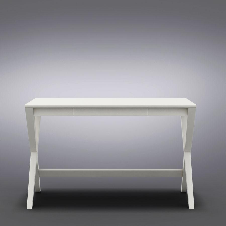 "Sandık ve Fıçı - Spotlight Ebony 58 ""Desk (2) royalty-free 3d model - Preview no. 3"