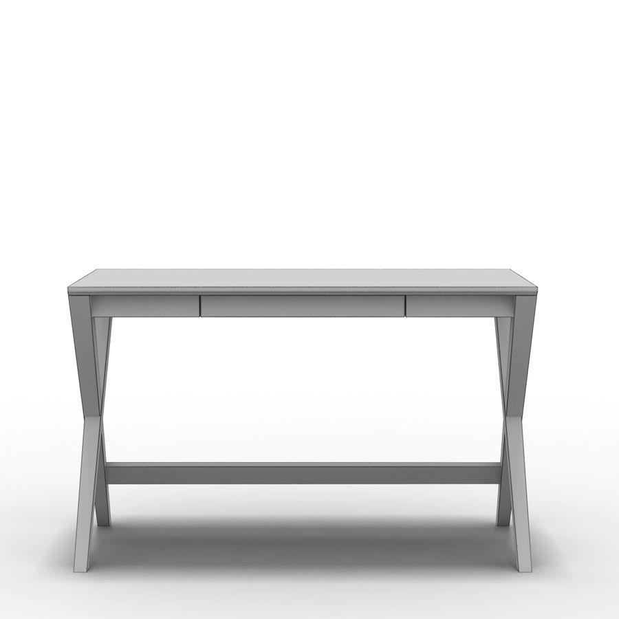 "Sandık ve Fıçı - Spotlight Ebony 58 ""Desk (2) royalty-free 3d model - Preview no. 2"
