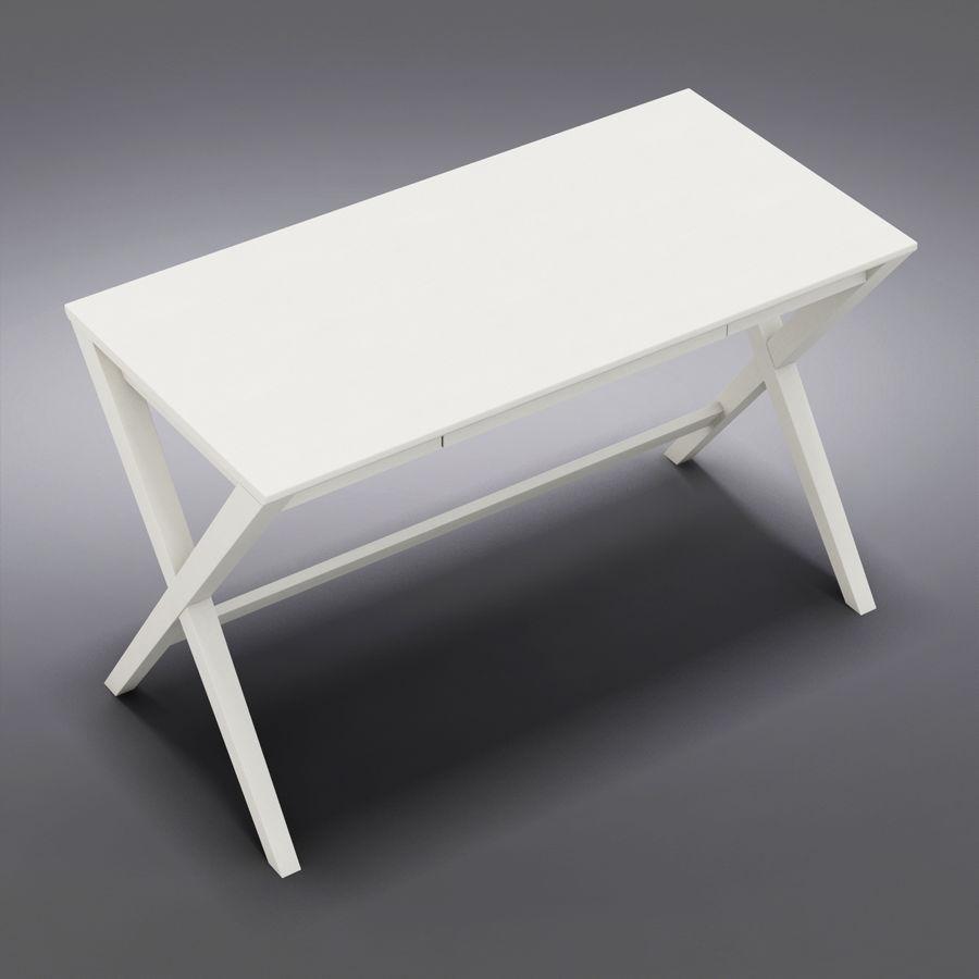 "Sandık ve Fıçı - Spotlight Ebony 58 ""Desk (2) royalty-free 3d model - Preview no. 1"