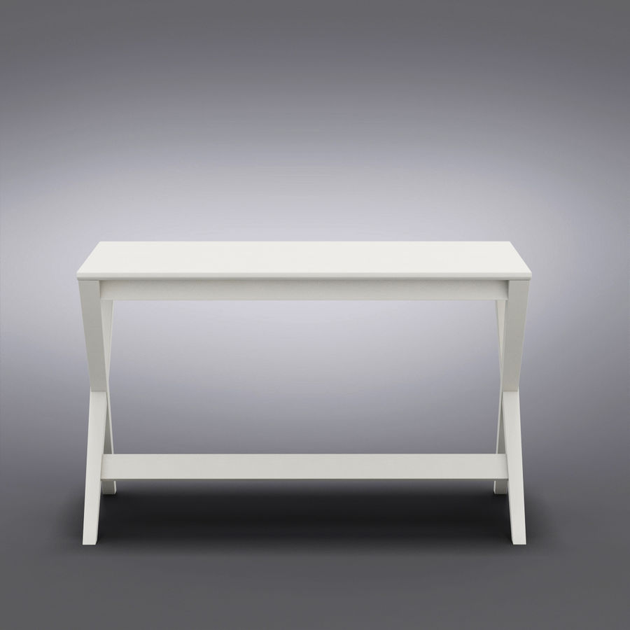 "Sandık ve Fıçı - Spotlight Ebony 58 ""Desk (2) royalty-free 3d model - Preview no. 12"