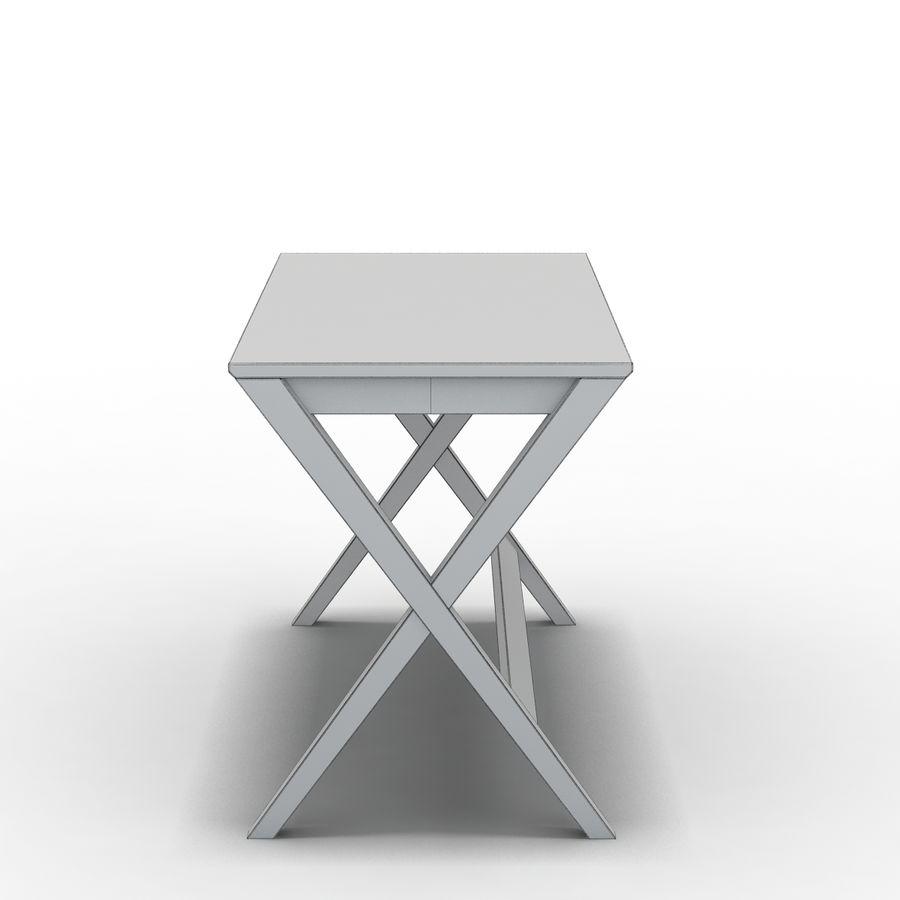"Sandık ve Fıçı - Spotlight Ebony 58 ""Desk (2) royalty-free 3d model - Preview no. 4"