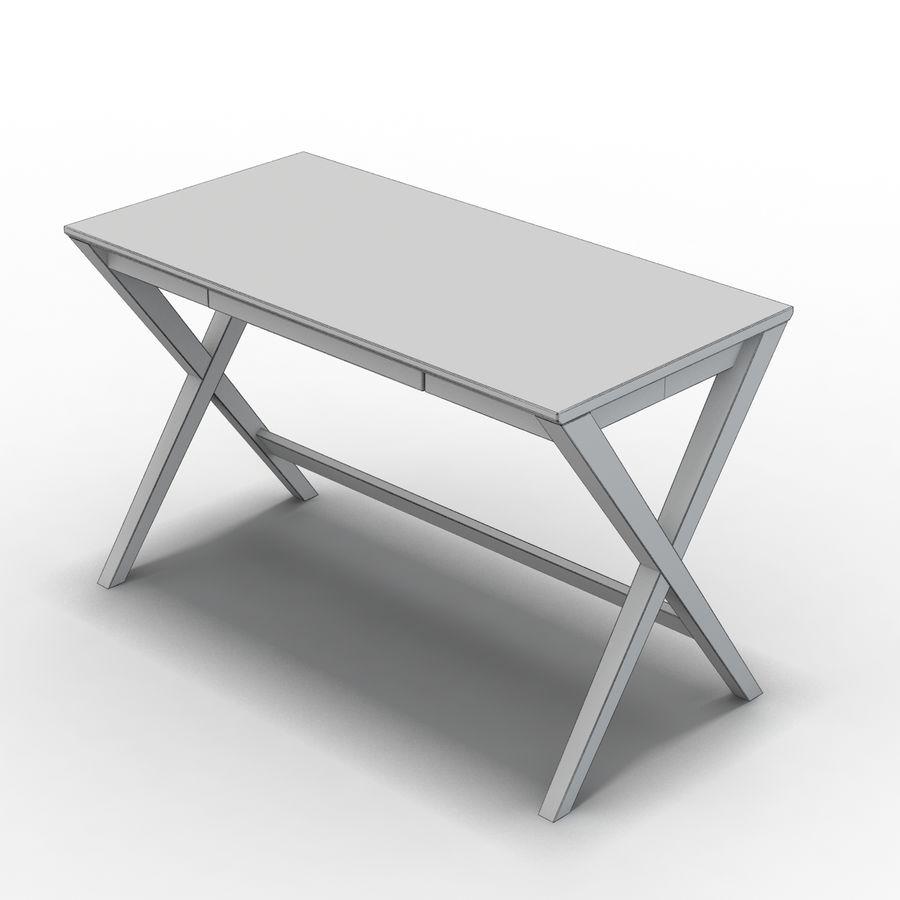 "Sandık ve Fıçı - Spotlight Ebony 58 ""Desk (2) royalty-free 3d model - Preview no. 8"