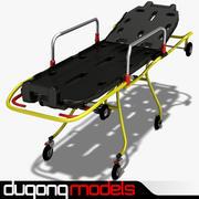 Rolling Stretcher 3d model