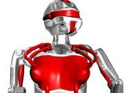 Robo girl 3d model