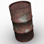 Explosive Barrel 3d model
