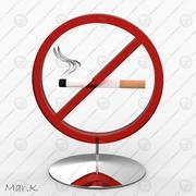 Курение запрещено 3d model