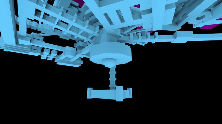 生化危机地下设施-蜂巢 royalty-free 3d model - Preview no. 15