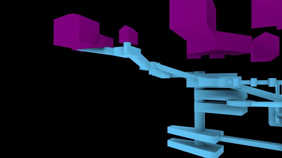 生化危机地下设施-蜂巢 royalty-free 3d model - Preview no. 17