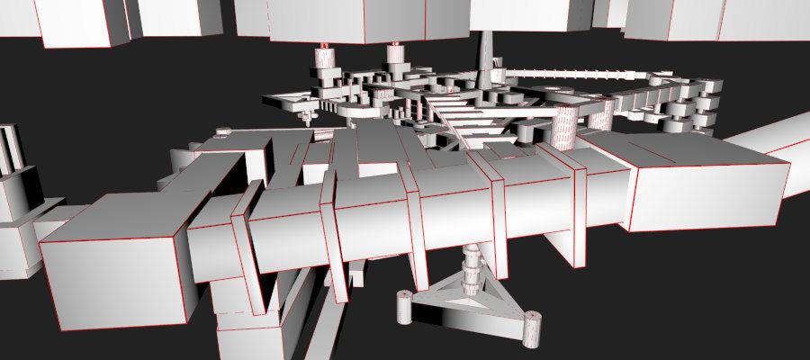 生化危机地下设施-蜂巢 royalty-free 3d model - Preview no. 23