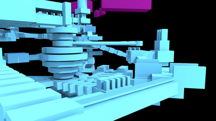 生化危机地下设施-蜂巢 royalty-free 3d model - Preview no. 4