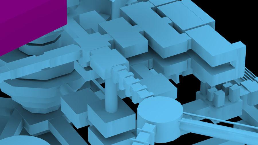 生化危机地下设施-蜂巢 royalty-free 3d model - Preview no. 18
