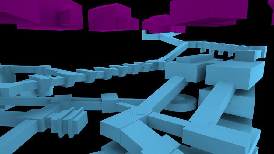 生化危机地下设施-蜂巢 royalty-free 3d model - Preview no. 7