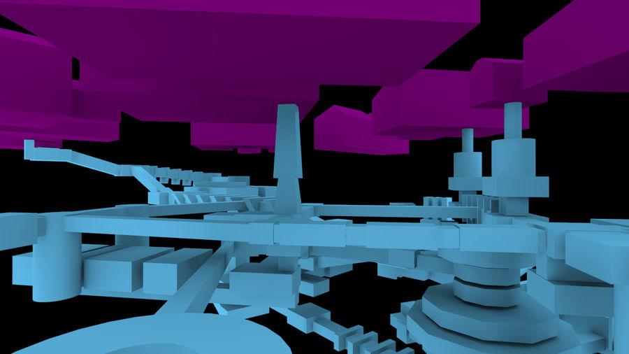 生化危机地下设施-蜂巢 royalty-free 3d model - Preview no. 14
