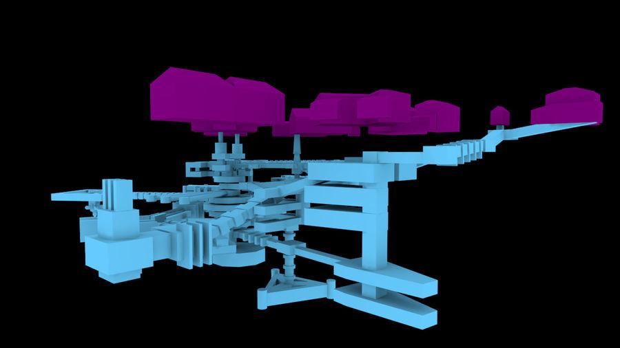 生化危机地下设施-蜂巢 royalty-free 3d model - Preview no. 10