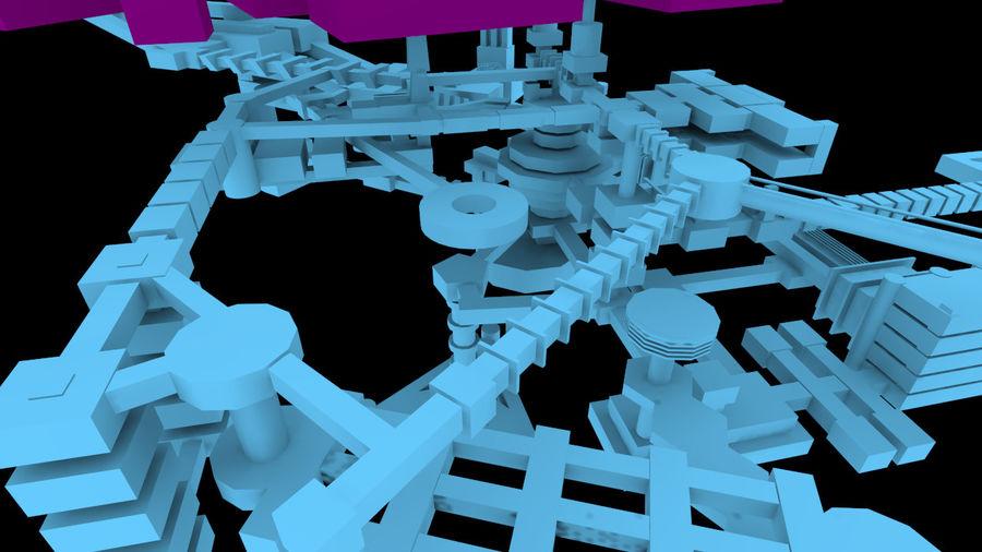 生化危机地下设施-蜂巢 royalty-free 3d model - Preview no. 13