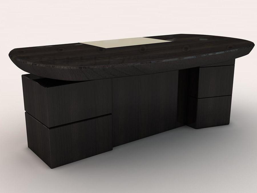 table de bureau royalty-free 3d model - Preview no. 1