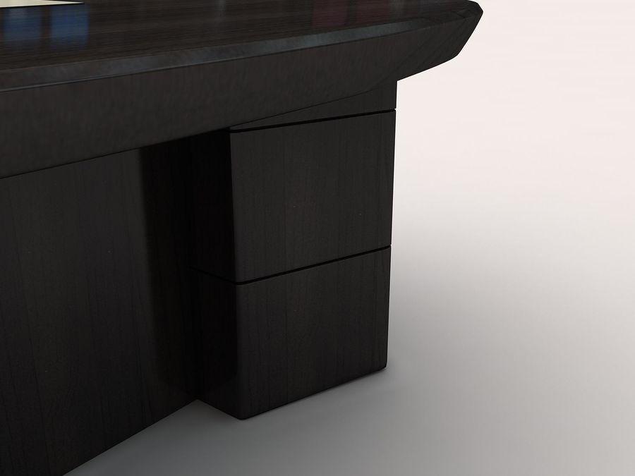 table de bureau royalty-free 3d model - Preview no. 4