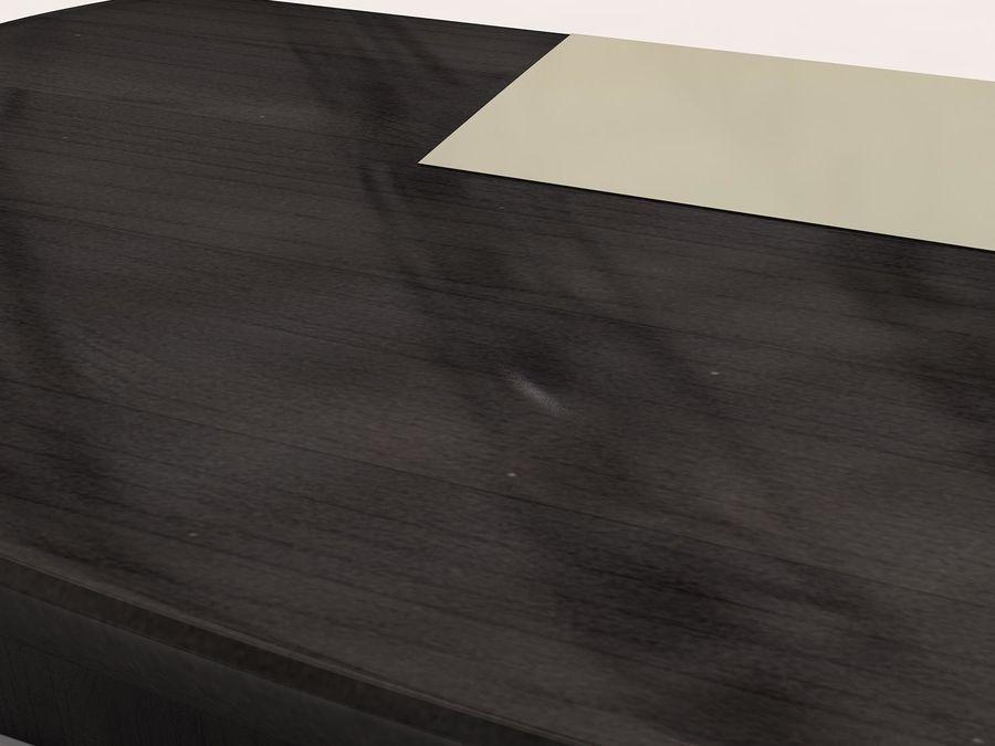 table de bureau royalty-free 3d model - Preview no. 5