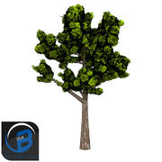 树 3d model