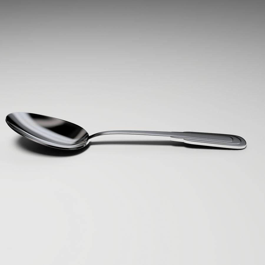 Łyżka stołowa Zepter royalty-free 3d model - Preview no. 2