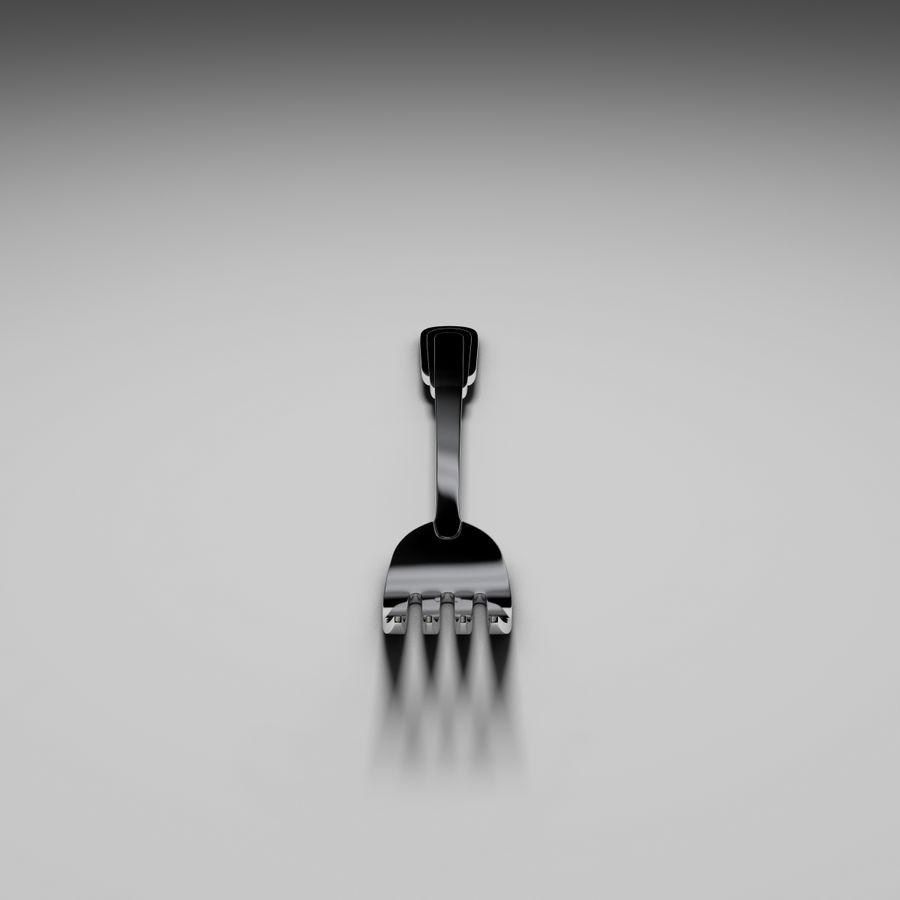 Zepter tafelvork royalty-free 3d model - Preview no. 8