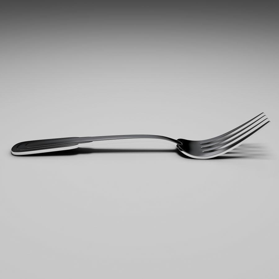 Zepter tafelvork royalty-free 3d model - Preview no. 6
