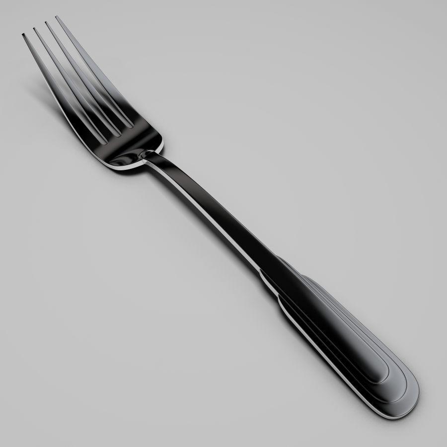 Zepter tafelvork royalty-free 3d model - Preview no. 1