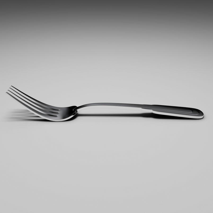 Zepter tafelvork royalty-free 3d model - Preview no. 2