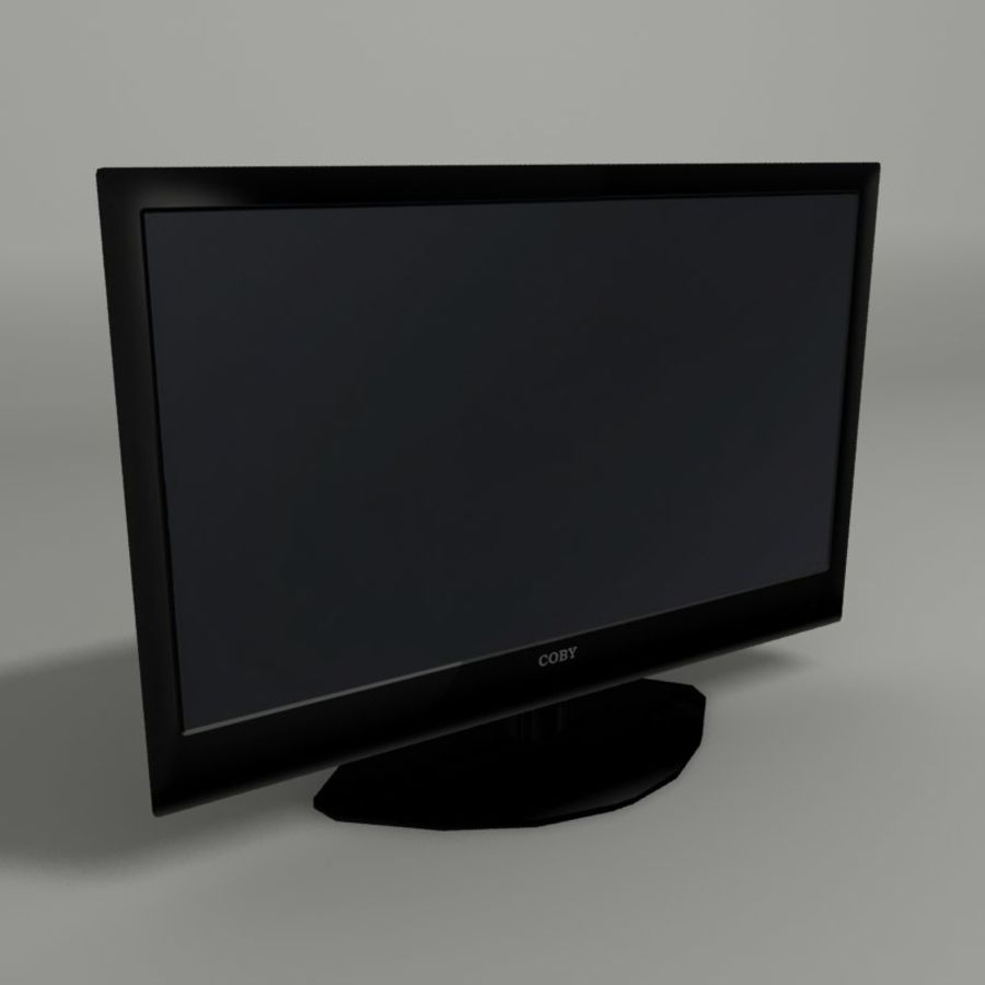 LED TV royalty-free 3d model - Preview no. 1