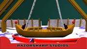 Paseo en carnaval de swing de barco modelo 3d