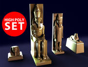 Estátuas 3d model