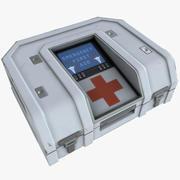 応急処置キット01 3d model