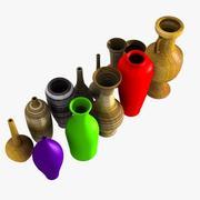 Коллекция ваз 3d model