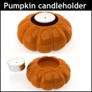 Pumpkin Candle Holder 3d model