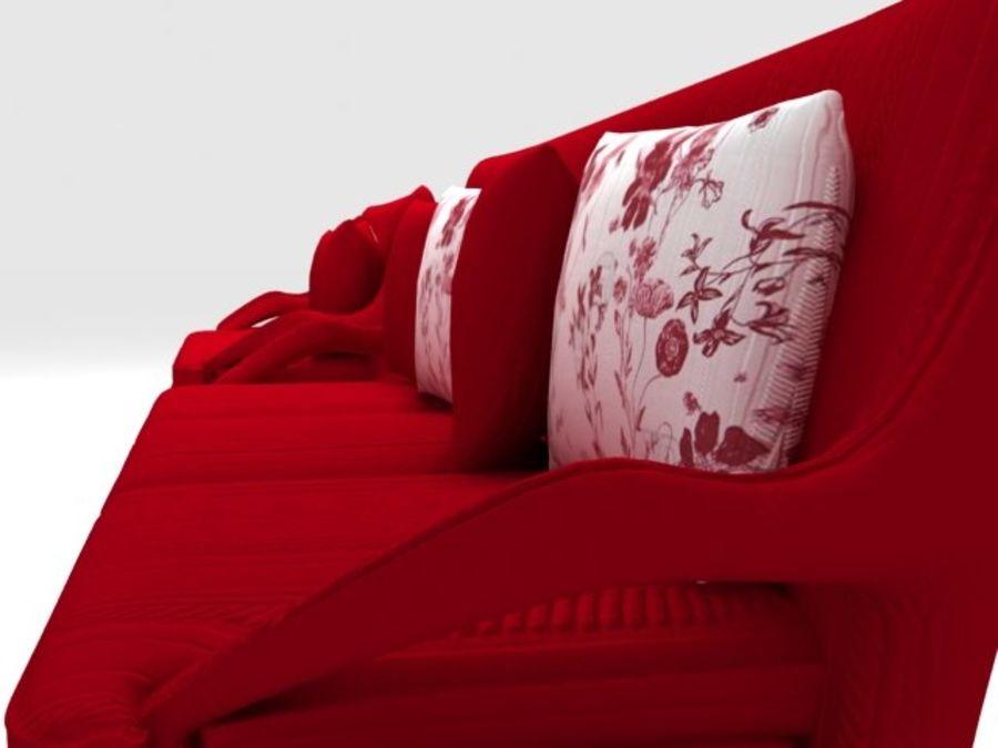Stuhl und Sofa royalty-free 3d model - Preview no. 2