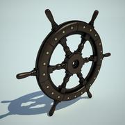 Roda do navio2 (1) 3d model
