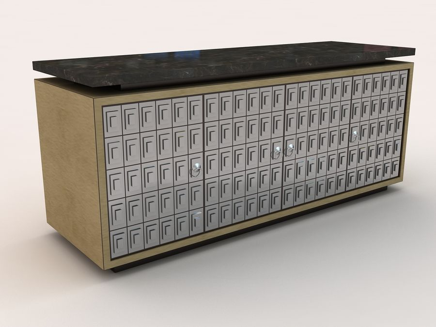 table royalty-free 3d model - Preview no. 1