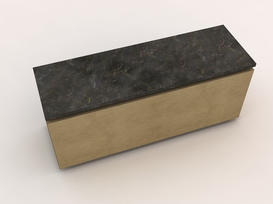 table royalty-free 3d model - Preview no. 3