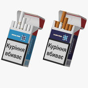 Zigarettenschachtel Präsident 3d model