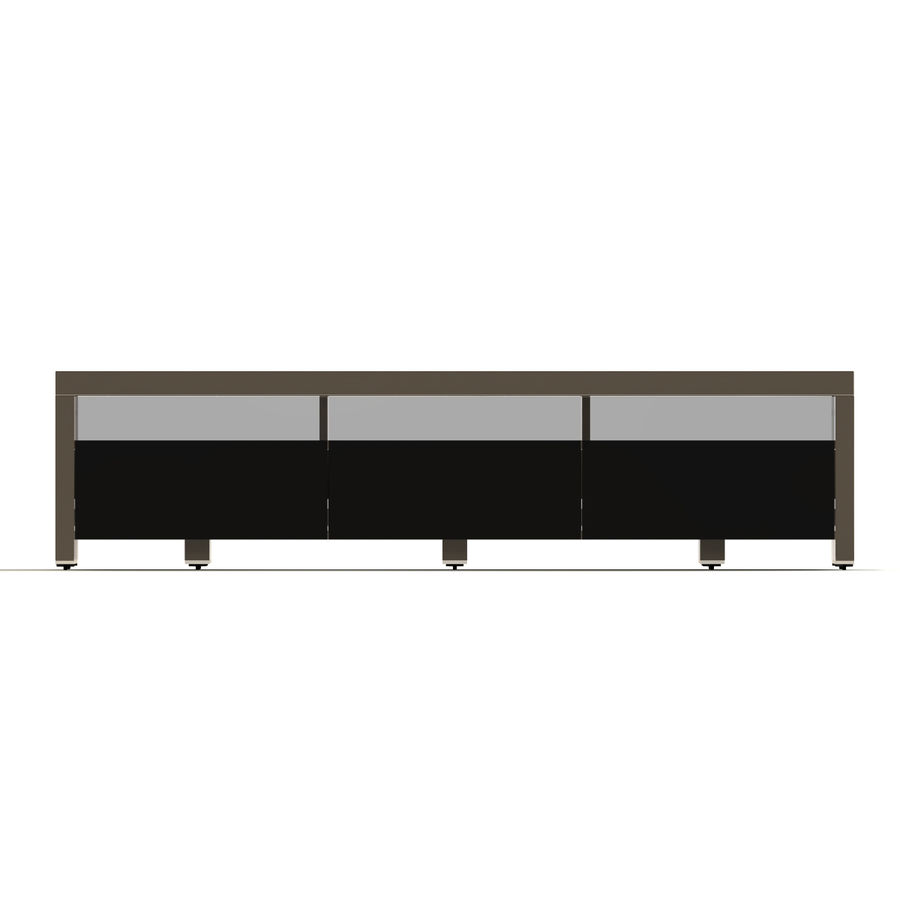TV Furniture Drawers royalty-free 3d model - Preview no. 7