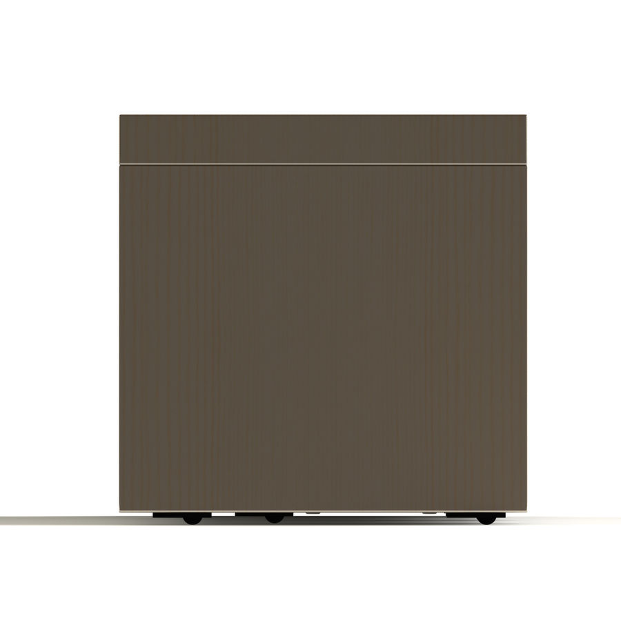 TV Furniture Drawers royalty-free 3d model - Preview no. 8