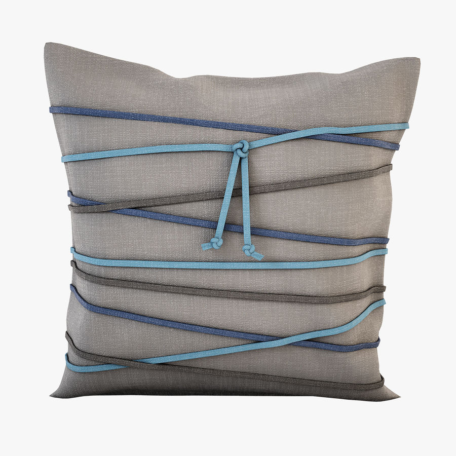 Pillow (19) royalty-free 3d model - Preview no. 1