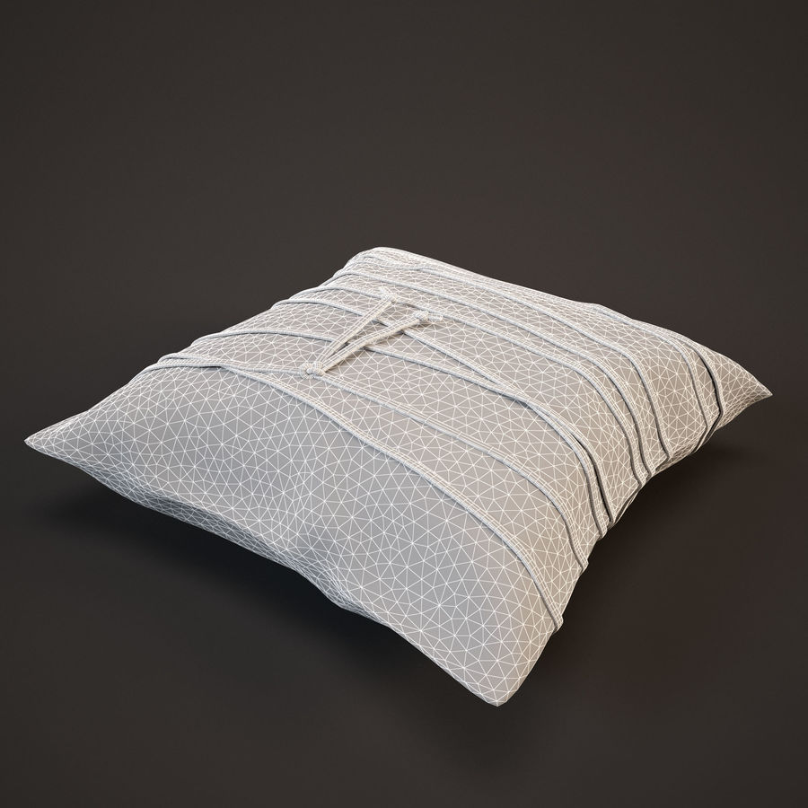 Pillow (19) royalty-free 3d model - Preview no. 9