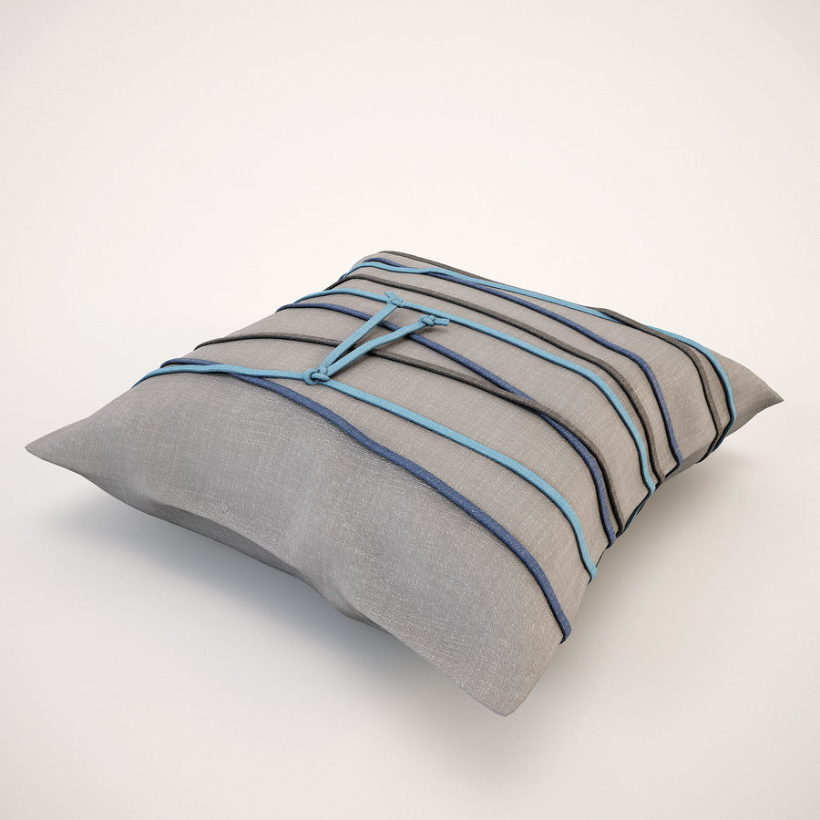 Pillow (19) royalty-free 3d model - Preview no. 8