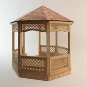 Pavilhão 3d model