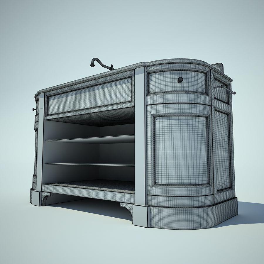 縁石トイレ royalty-free 3d model - Preview no. 4