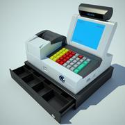 cash register 3d model