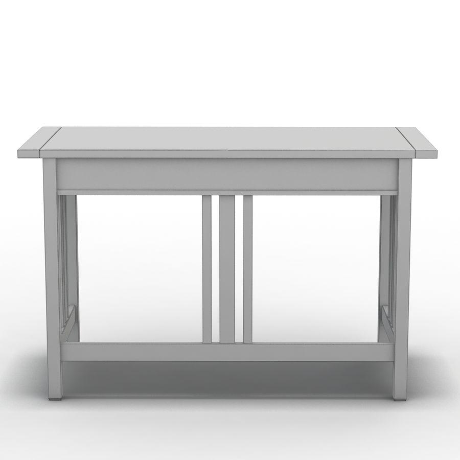 Sandık ve Fıçı - Landon Desk royalty-free 3d model - Preview no. 11