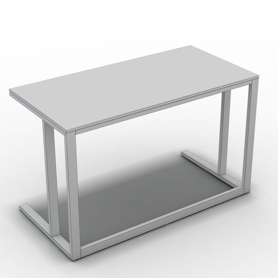 Sandık ve Fıçı - Pilsen 48 Desk royalty-free 3d model - Preview no. 6